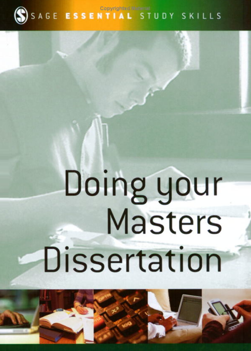 Dissertation doing essential master sage series skill study